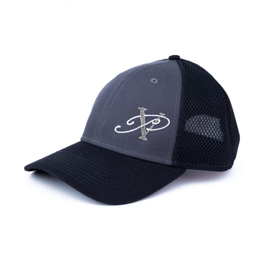 Black & Charcoal Baseball Cap